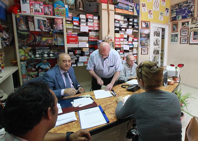 SEVILLA. 05/05/15. Reportaje Fundación padre Leonardo Castillo. Entrevista a Florencio Gutiérrez. FOTOS: ROCIO RUZ. ARCHSEV