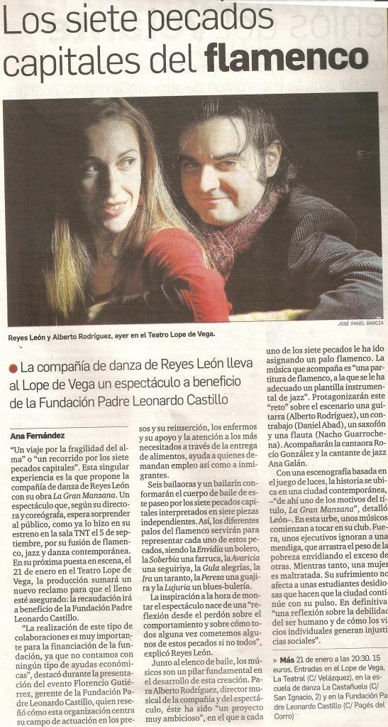 Diario de Sevilla La gran manzana