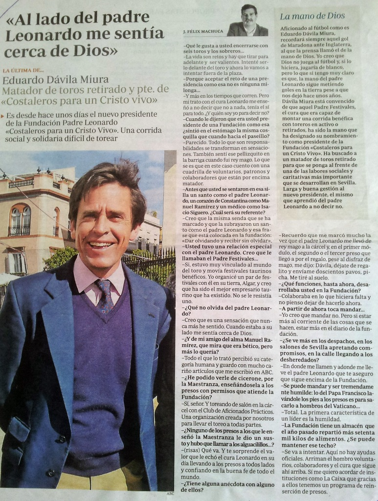 Entrevista a Eduardo Dávila 2013