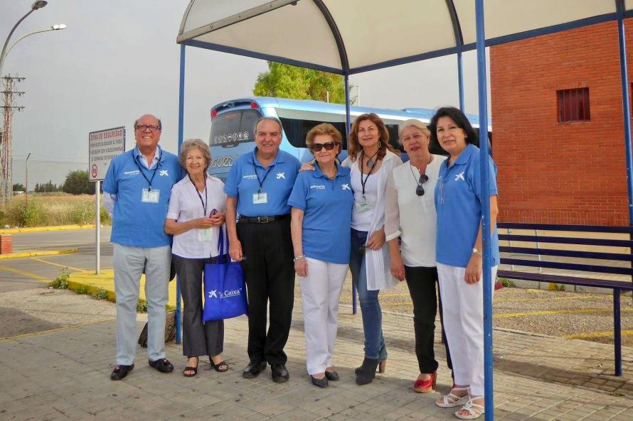 Foto voluntarios Caixa y Fundación