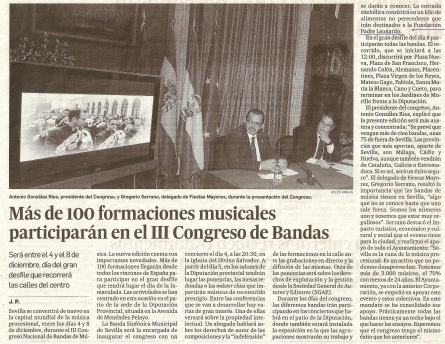 III Congreso Nacional de Bandas 2013