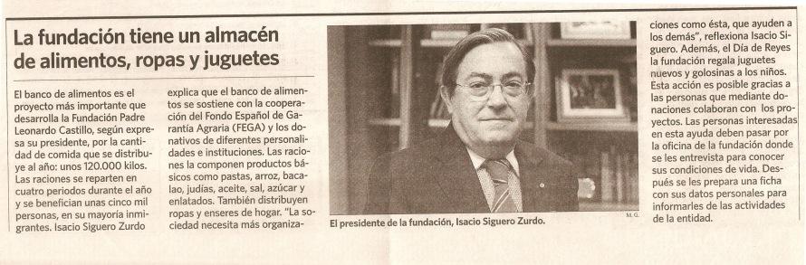 Isacio hablando almacén Diario de Sevilla 31 Agosto 2008