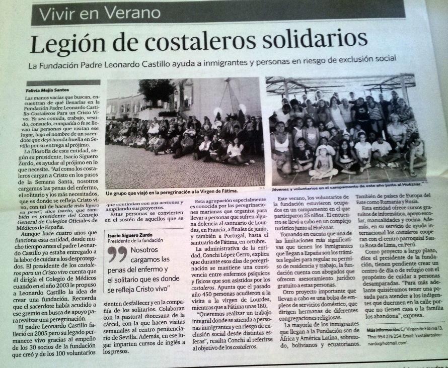 Legion Costaleros Solidarios Agosto 2008
