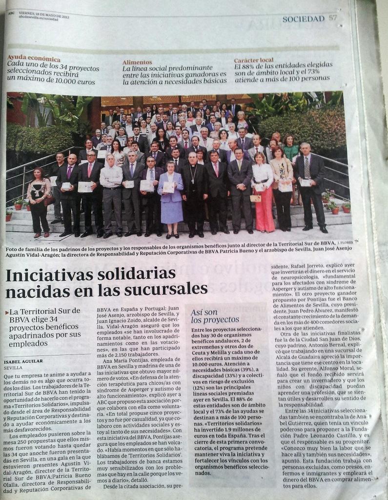 Premios Territorios Solidarios 1º 18 Mayo 2012